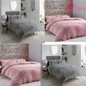 Fluffy Hug N Snug Teddy Duvet Cover