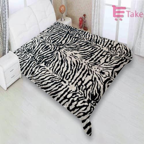 Zebra skin print Throw